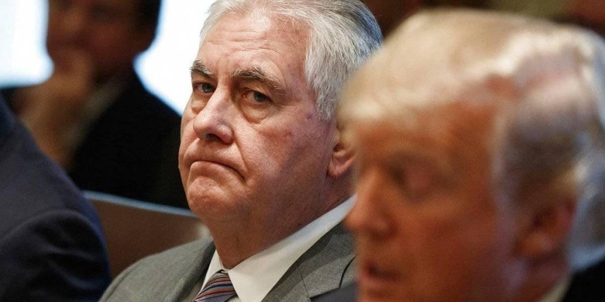 Trump despide a Rex Tillerson del Departamento de Estado