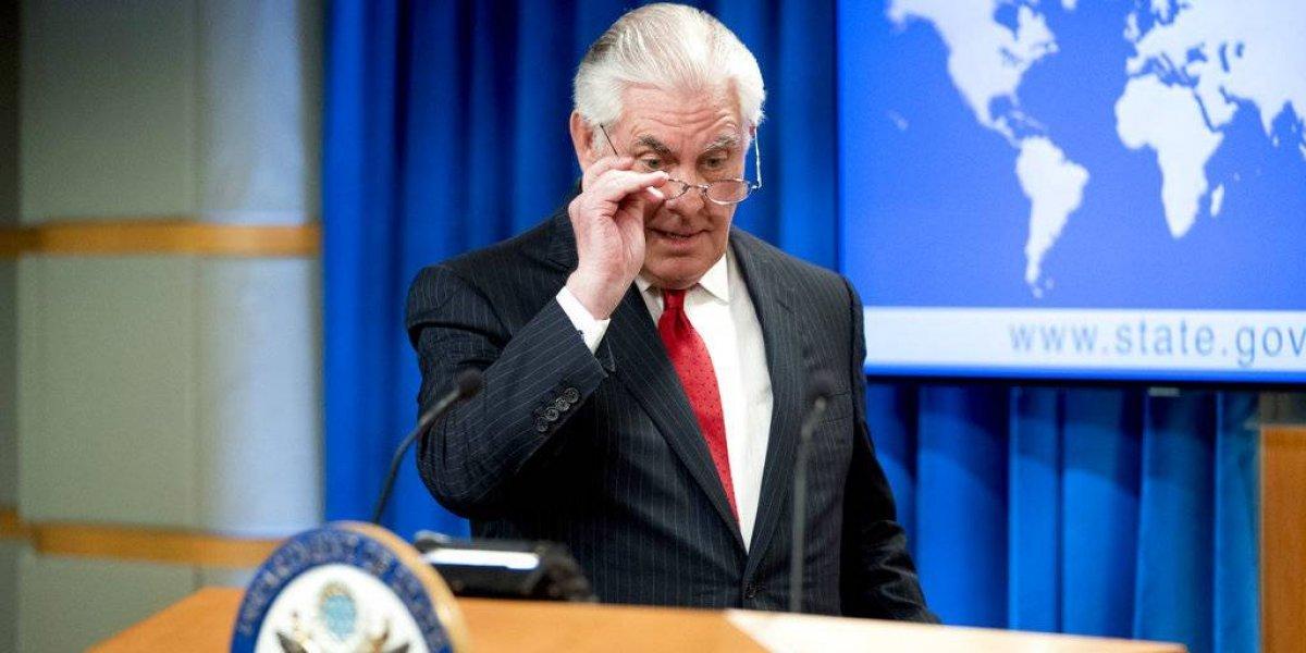 Rex Tillerson deja el Departamento de Estado de EU; se va el 31 de marzo
