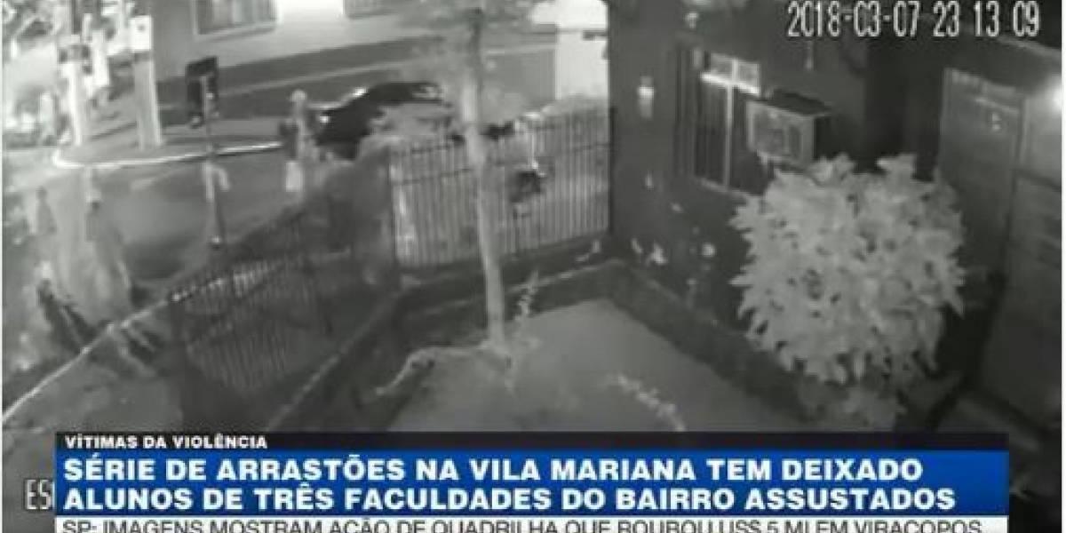 VÍDEO: arrastões na Vila Mariana preocupam moradores e estudantes