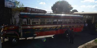asalto a bus en ruta al Pacífico
