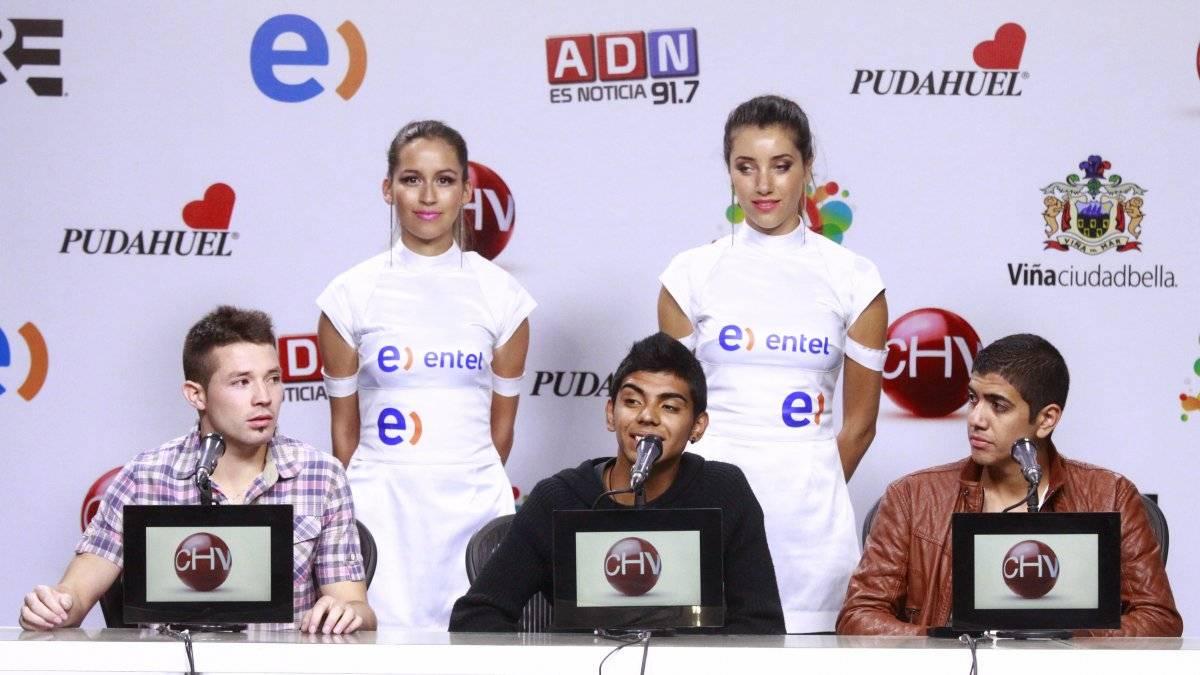 Conferencia de Prensa de los chicos que cantaron con Romeo Santo