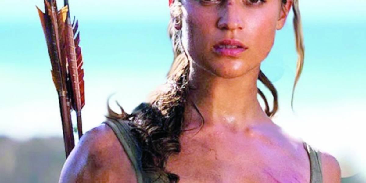 """""""Le dimos un lado humano a Lara Croft"""": Alicia Vikander"""