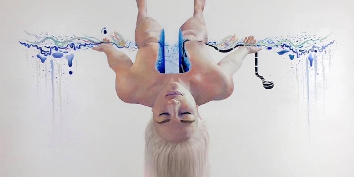 """Artistas fueron hipnotizados y los resultados fueron """"Los lienzos subconscientes"""""""