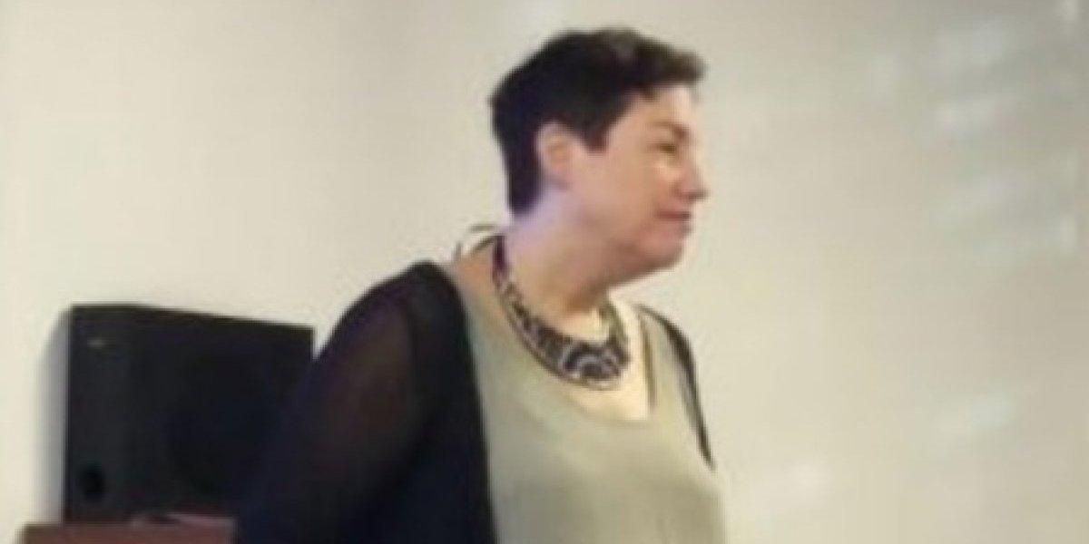 Beatriz Sánchez debuta en su nuevo trabajo: hace clases de periodismo político en la Universidad de Chile