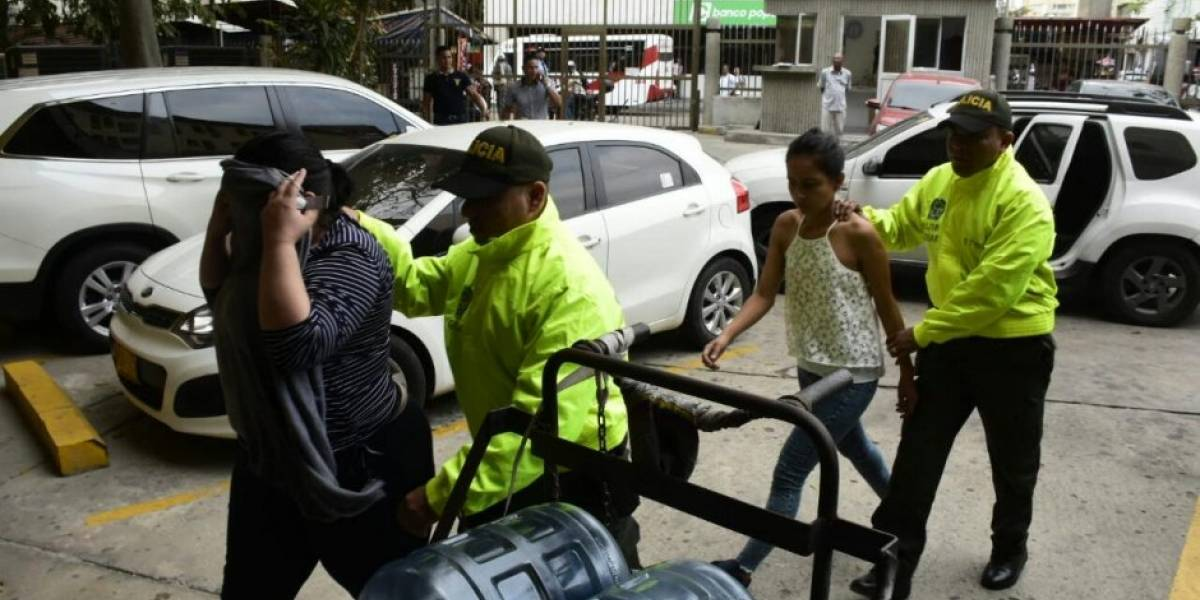 Capturados en comando político de la senadora Aida Merlano rinden indagatoria en Barranquilla