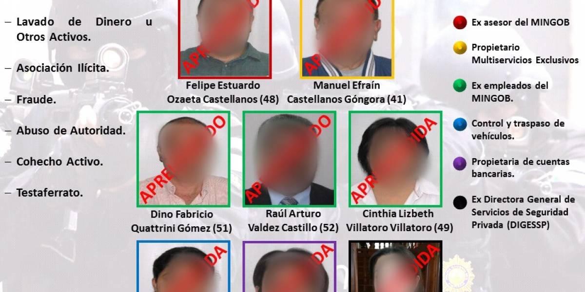 Detenidos por caso Blindados son enviados a Mariscal Zavala