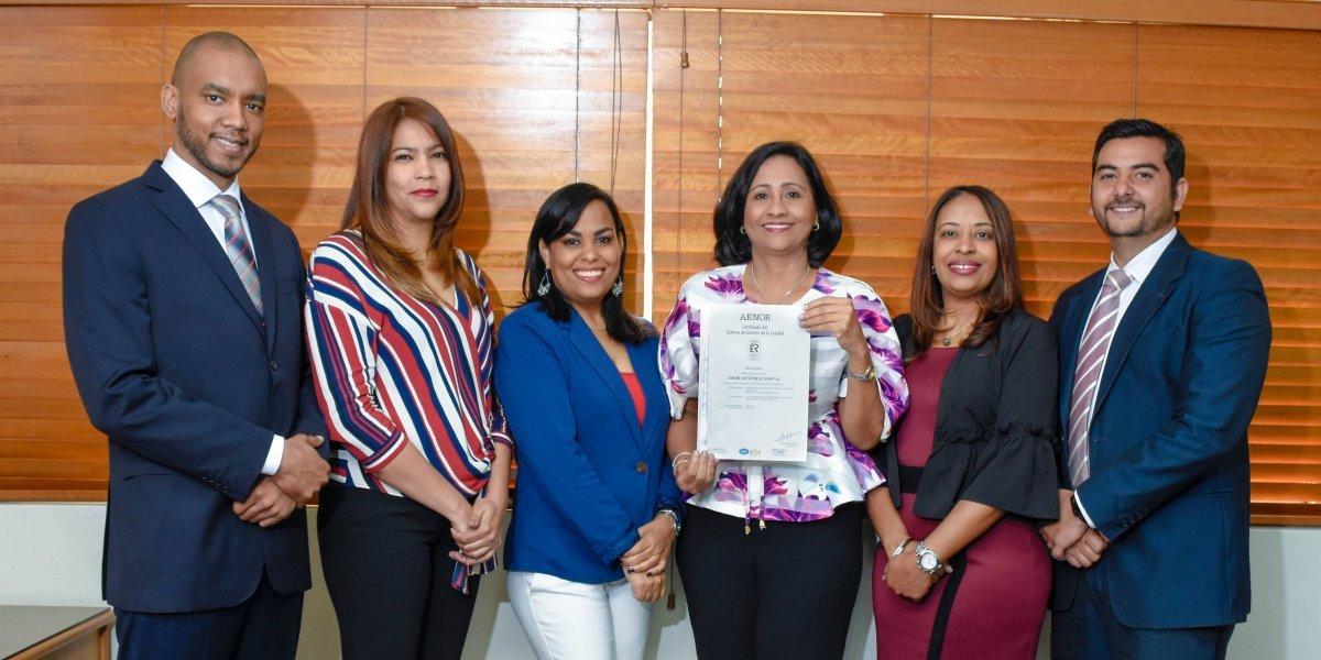 #TeVimosEn: Caribe Asistencia recibe certificación internacional