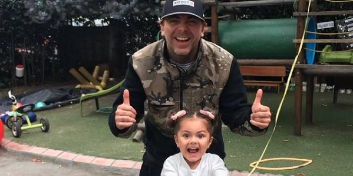 """Fuertes críticas a Cristian Castro y su familia por """"baile inapropiado"""" de su pequeña hija"""