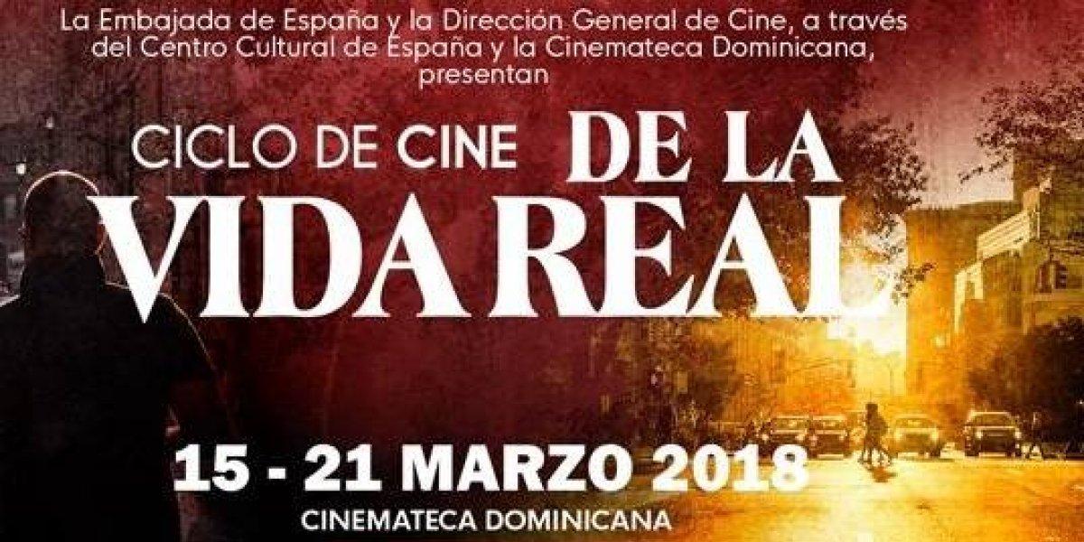 """Embajada de España y DGCINE proyectarán ciclo """"De la vida real"""" del 15 al 21"""