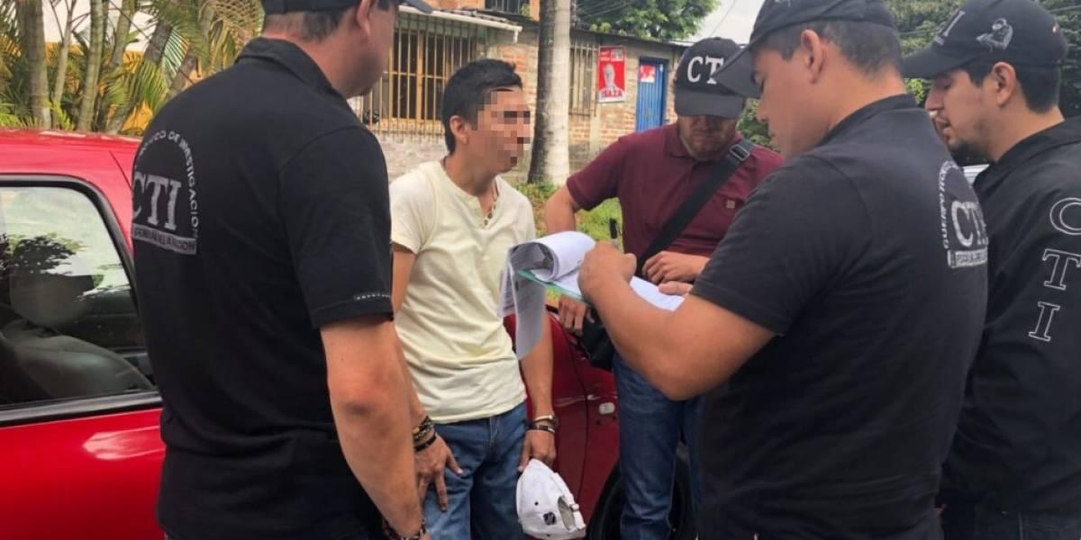 Hombre vinculado al asesinato de dirigente del Aucas es capturado