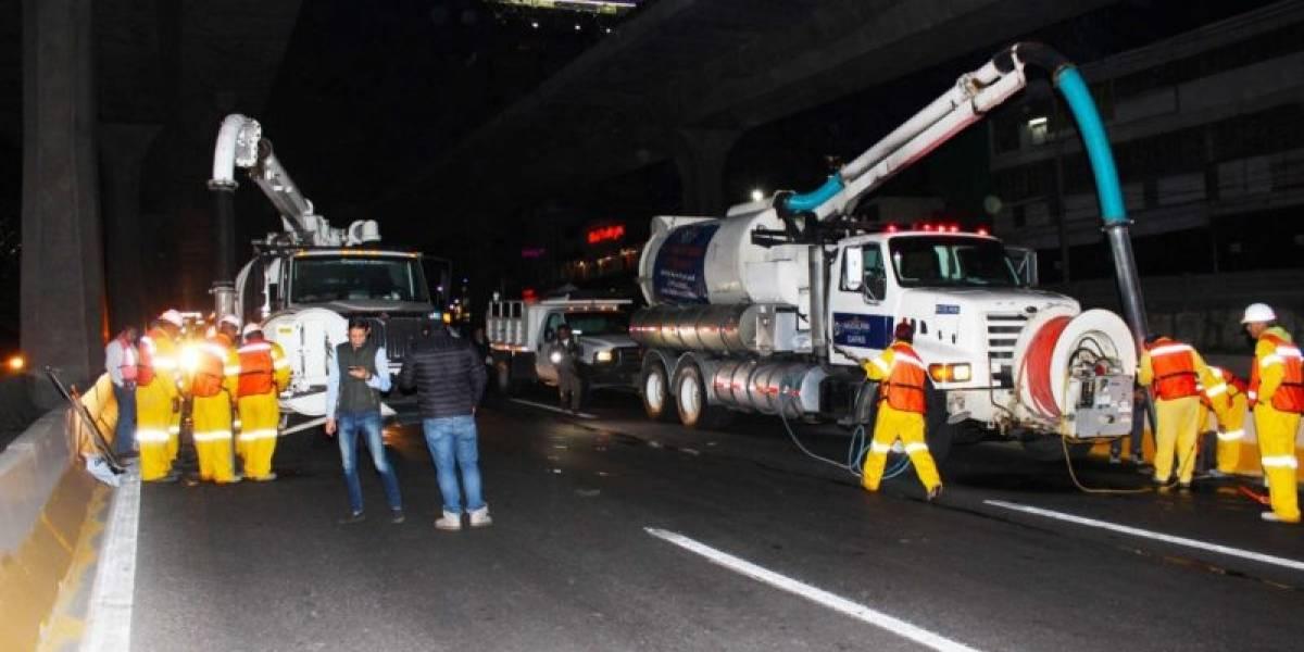 ¡Alerta! Cierre nocturno de Periférico Norte durante un mes por limpieza de drenaje