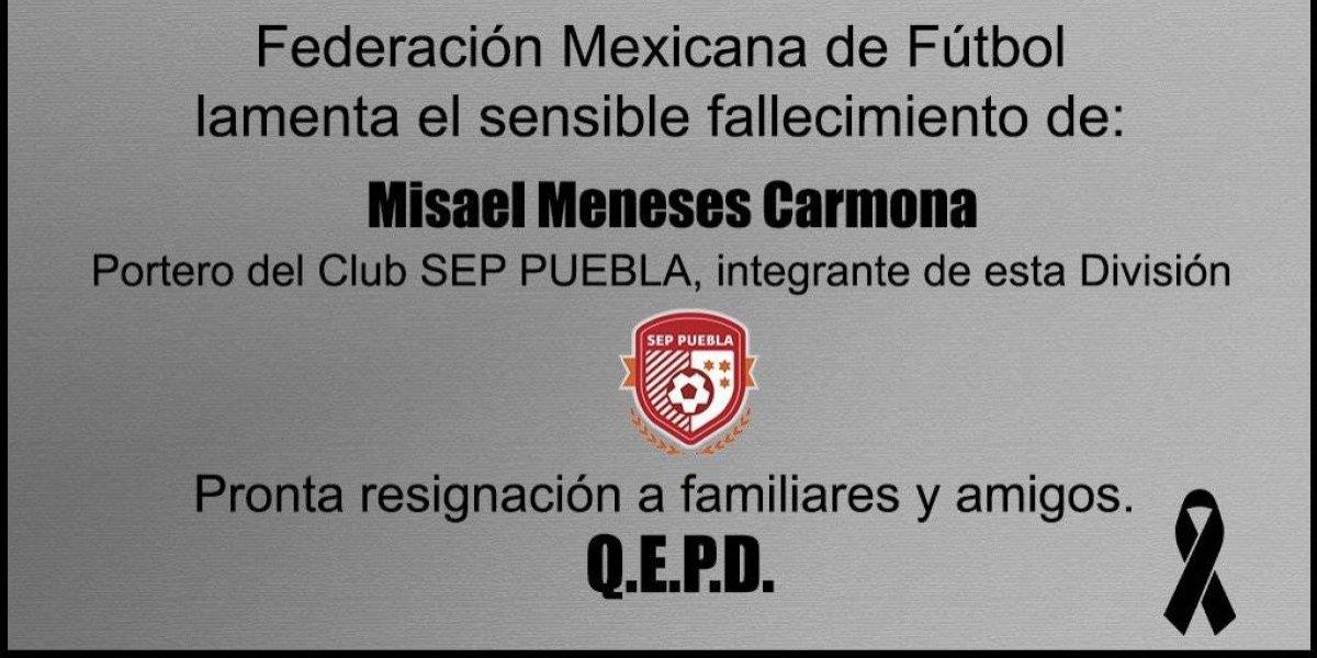 Muere futbolista mexicano de 19 años ahogado en una alberca