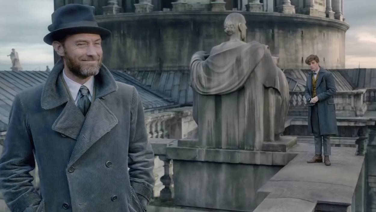 Fantastic Beasts: The Crimes of Grindelwald es pura acción en su primer tráiler