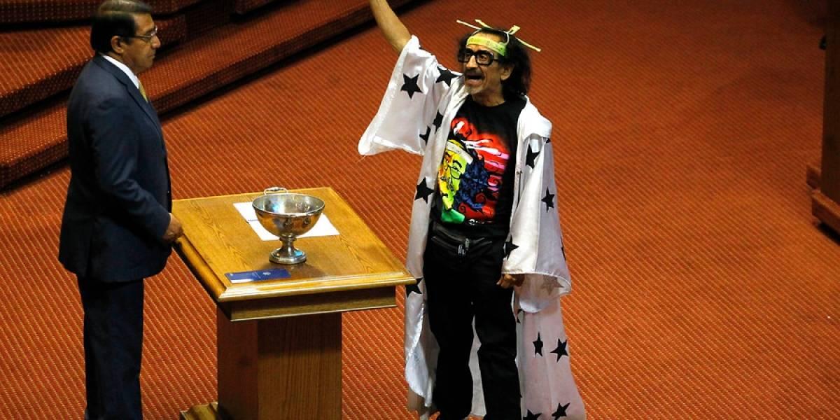 La extravagante foto que eligió Florcita Motuda para el sitio oficial de la Cámara de Diputados