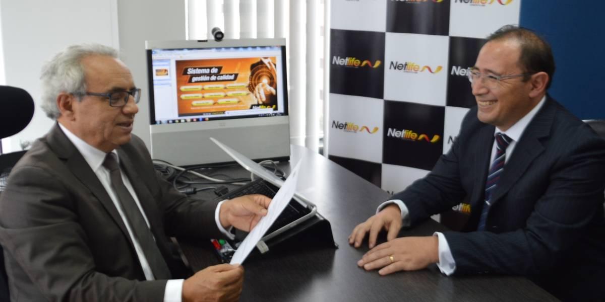 Netlife obtiene Certificación Internacional ISO 9001:2015