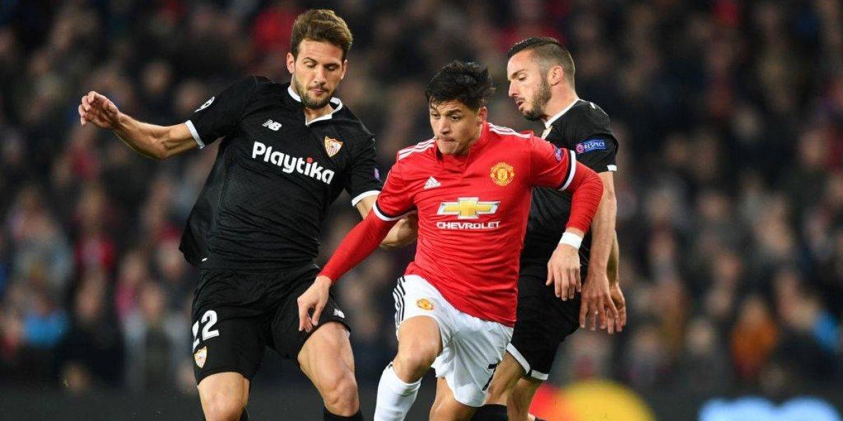 Así vivimos la eliminación del United de Alexis ante Sevilla en la Champions