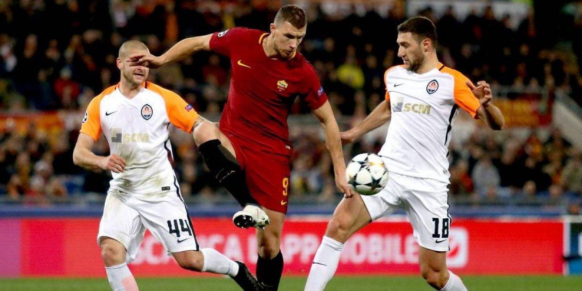 Roma remontó al Shakthar y clasificó a cuartos de final en la Champions