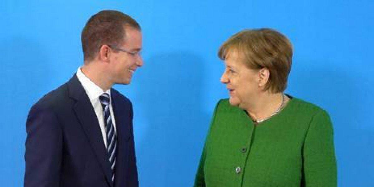 Se reúne Anaya con canciller alemana Angela Merkel