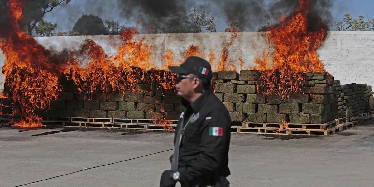 EU elogia colaboración con México en lucha antidrogas