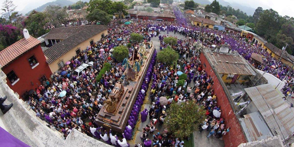 El Soberano Señor de la Caída convocará a miles de fieles en La Antigua