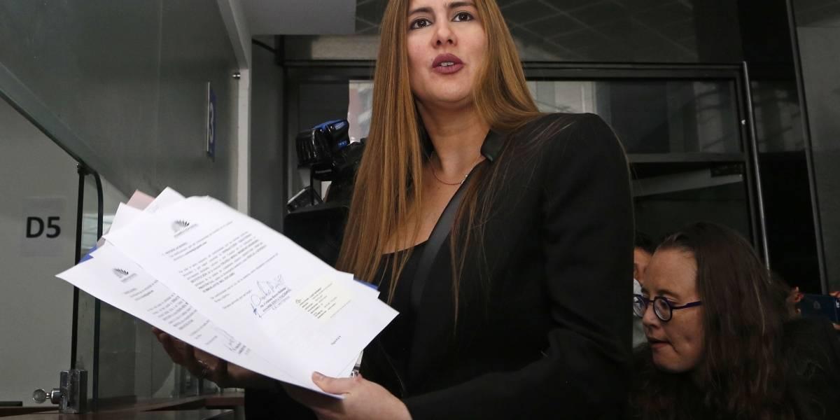 Cristina Reyes pide la destitución de Thania Moreno