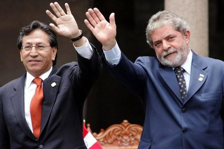Alejandro Toledo y Lula da Silva