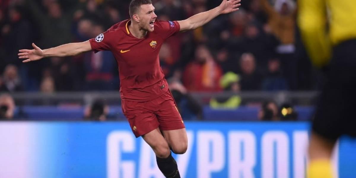 Champions: La Roma vuelve a unos cuartos de final diez años después