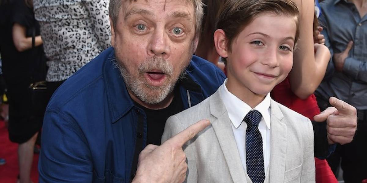 Mark Hamill quer ver Jacob Tremblay no papel de jovem Luke Skywalker