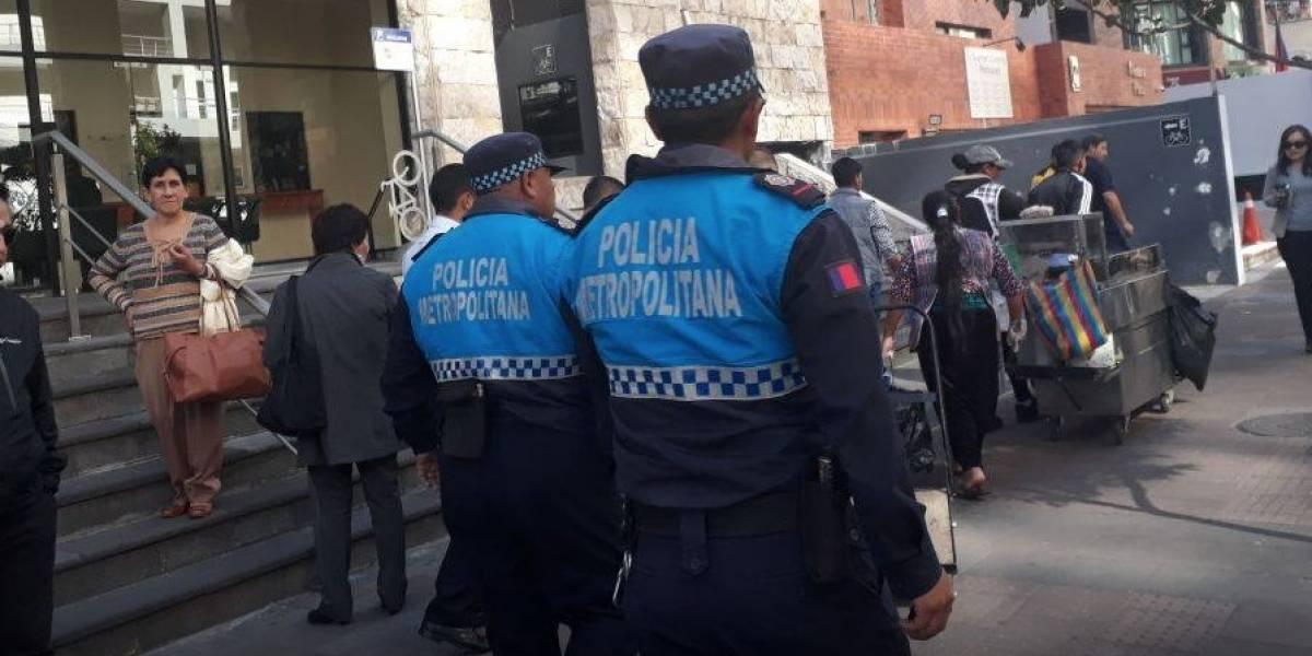 Cuerpo de Agentes de Control de Quito hizo advertencia a aspirantes