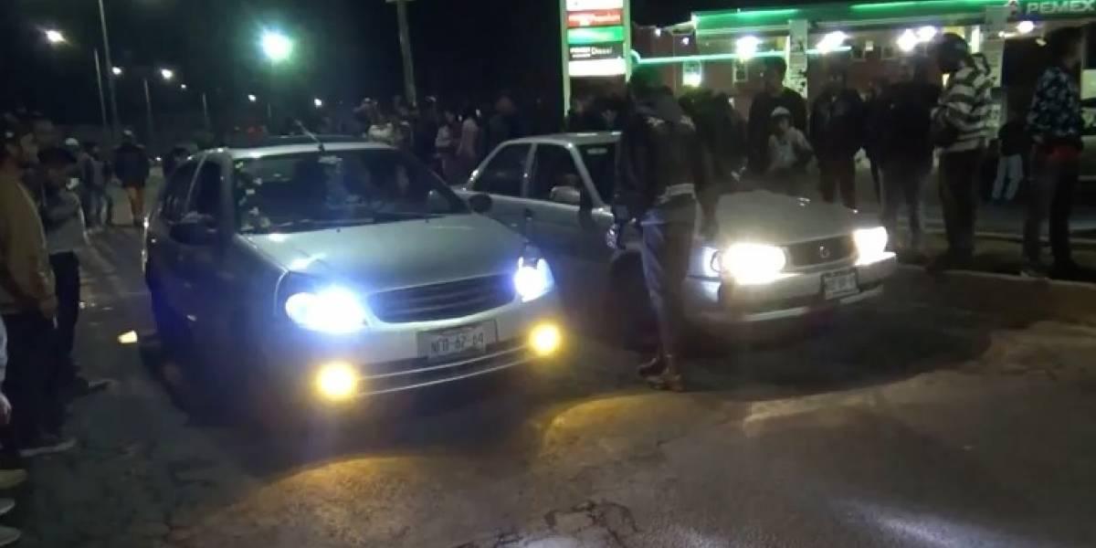 VIDEO: Organizan arrancones clandestinos en Chalco y Tláhuac