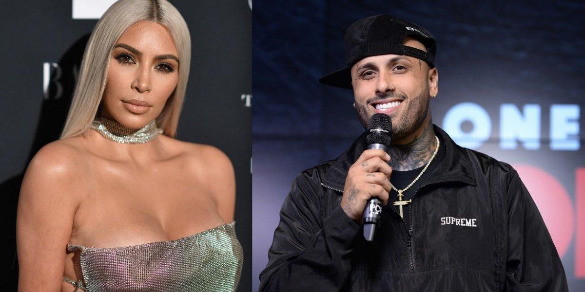 Nicky Jam presume salida con el mejor amigo de Kim Kardashian