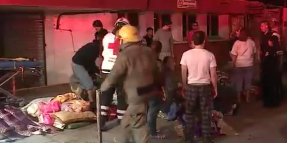 Incendio en asilo de Monterrey deja al menos dos muertos