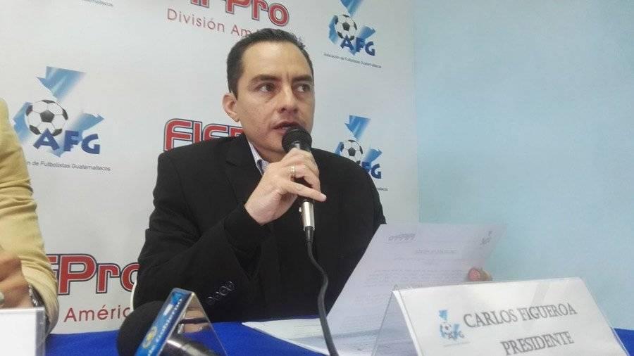 Exfutbolista Carlos Figueroa