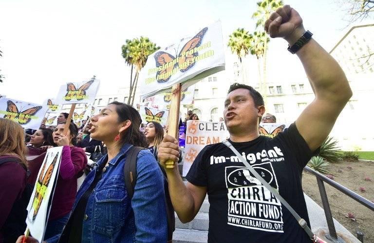 Manifestaciones en California