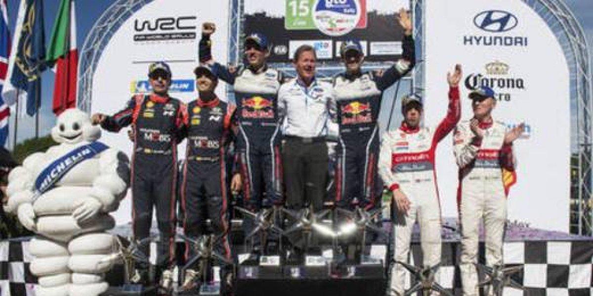Sébastien Ogier gana cuarta victoria y recupera el liderato del WRC