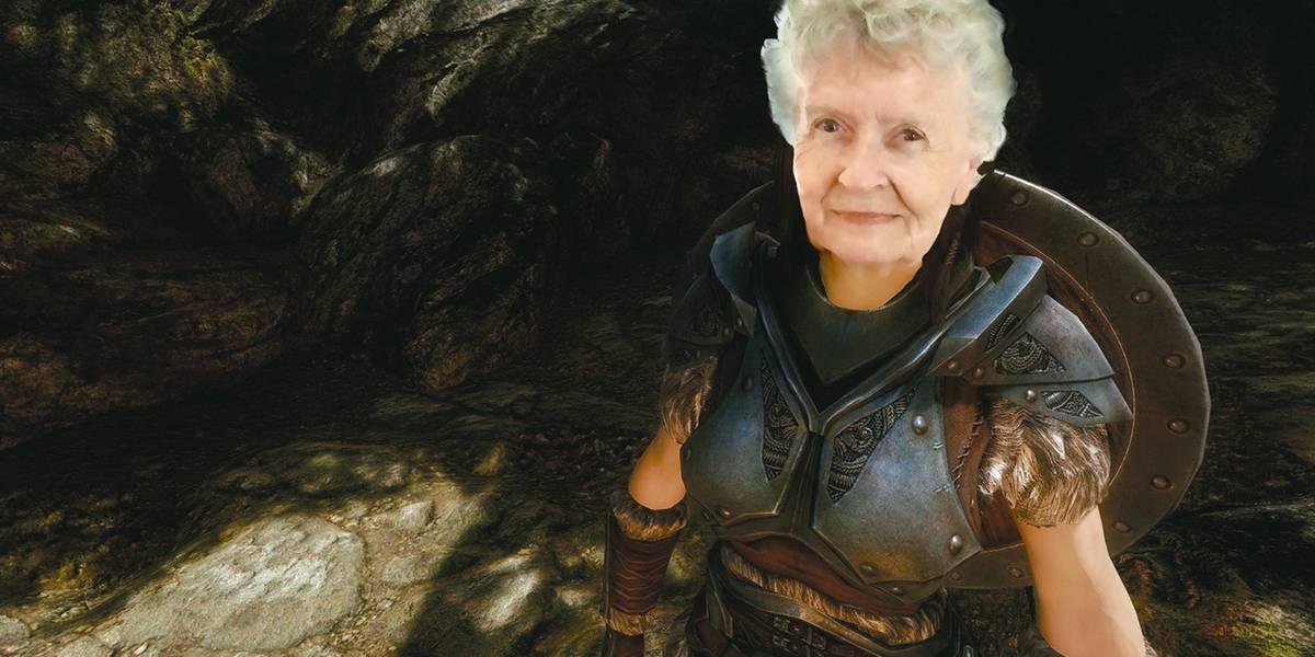 Fã de Skyrim, vovó gamer de 81 anos faz sucesso no YouTube