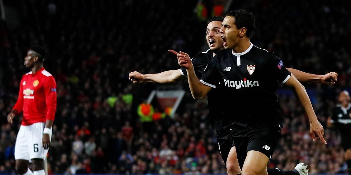 Sevilla elimina United e volta às quartas de final da Liga após 60 anos