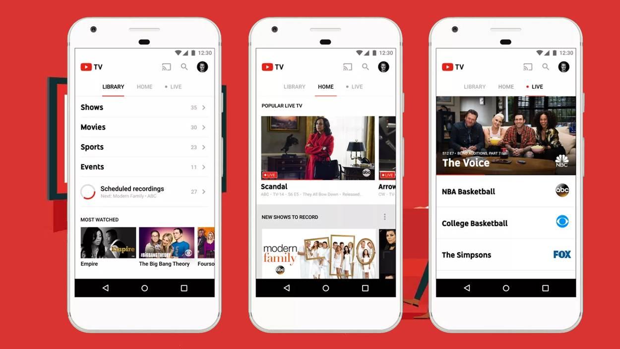 YouTube TV sube sus precios a un año de salir al mercado