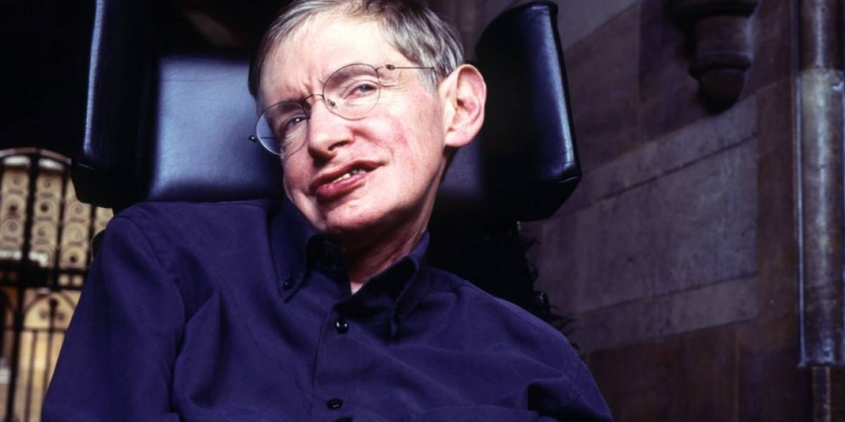 Stephen Hawking foi