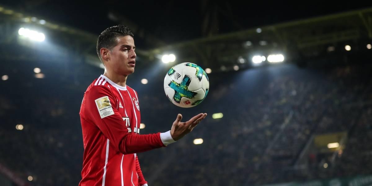 ¡Regreso triunfal! James volvió y el Bayern avanza a cuartos de Champions