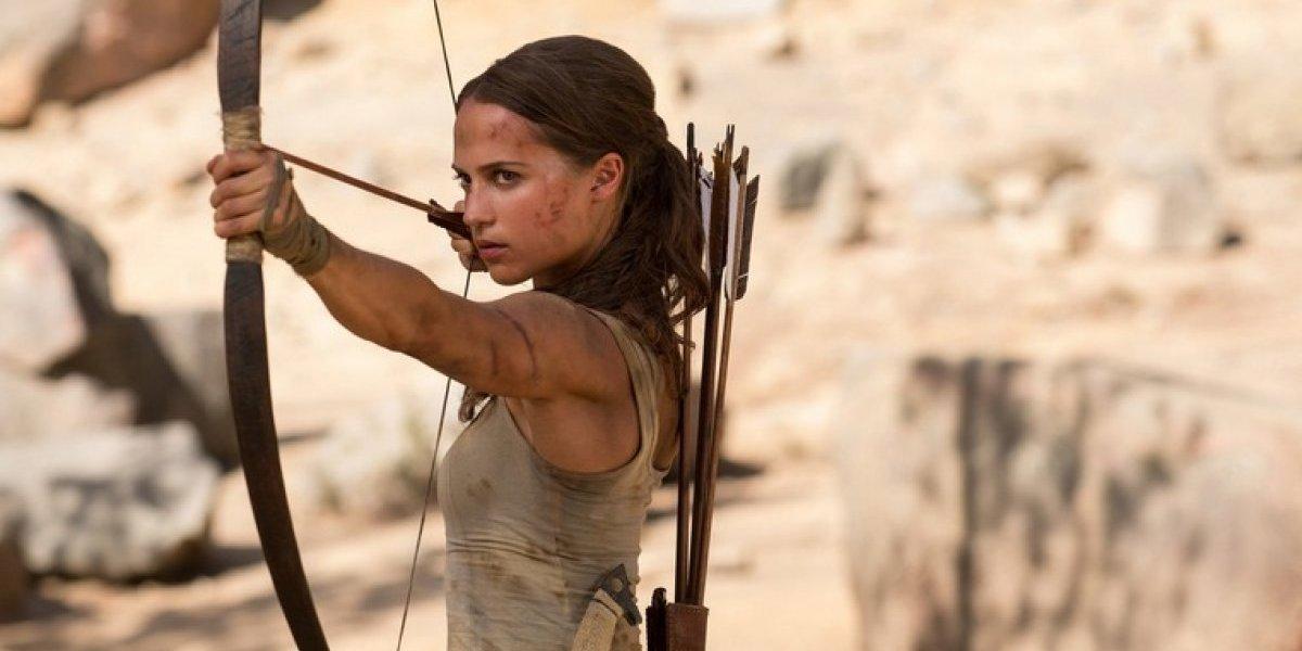 """""""Tomb Raider"""": Alicia Vikander muestra a una Lara Croft más realista"""