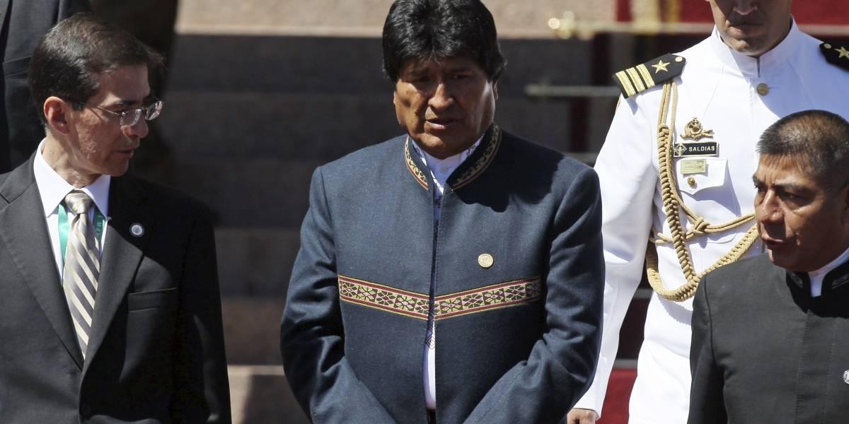 Resultado de imagen para Evo Morales, llegó hoy a La Haya,