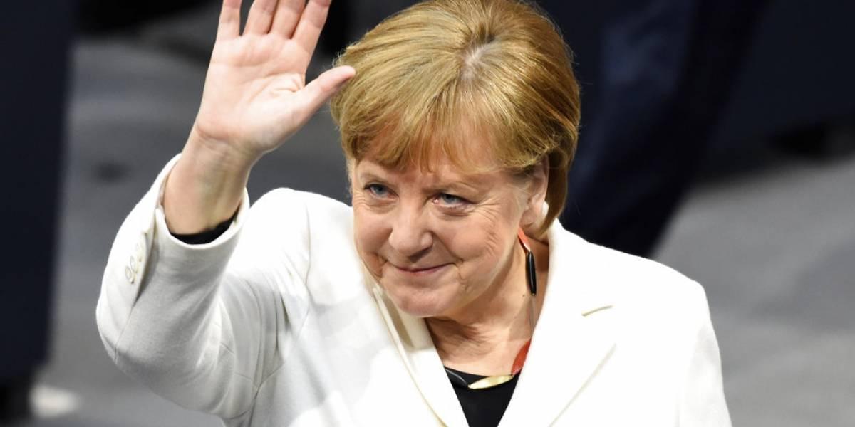 Parlamento alemán elige a Angela Merkel para cuarto mandato
