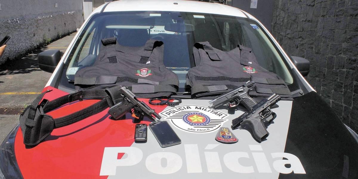 Criminosos se passam por polícia em São Caetano, no ABC paulista