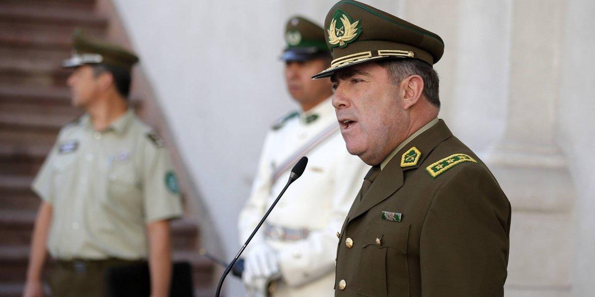 """La """"modernización"""" comienza con un nuevo general director de Carabineros"""