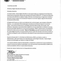 Documentos entregados a Metro por María de Lourdes Santiago.