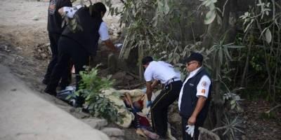 localizan cadáver de mujer en San Pedro Ayampuc