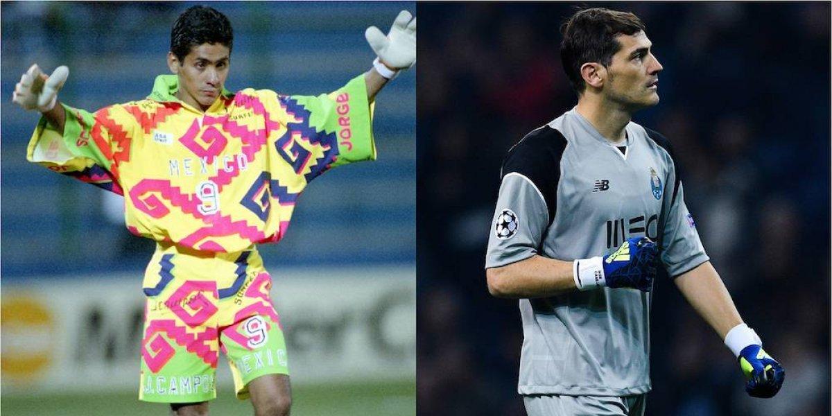 Jorge Campos ha sido la inspiración de Iker Casillas