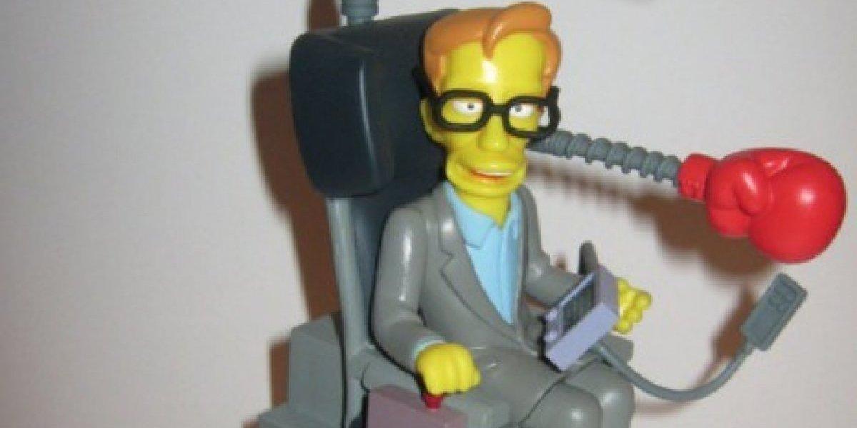 De Los Simpson a Star Trek: los mejores momentos de Stephen Hawking haciendo lo que más le gustaba reírse de sí mismo