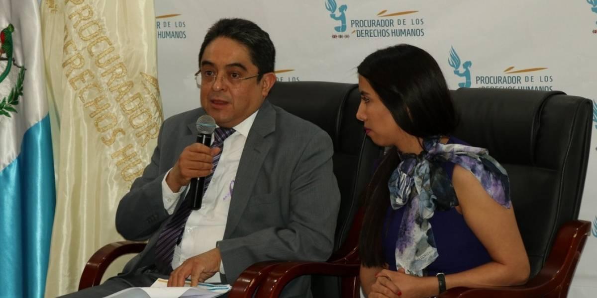 Procurador Jordán Rodas recuerda que se debe respetar su trabajo independiente